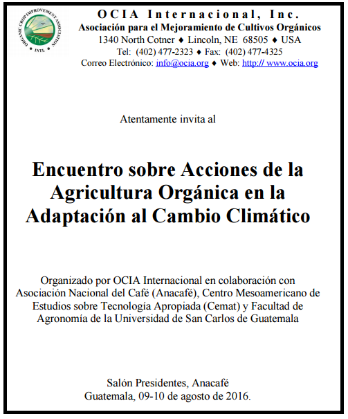 encuentro agricultura orgánica