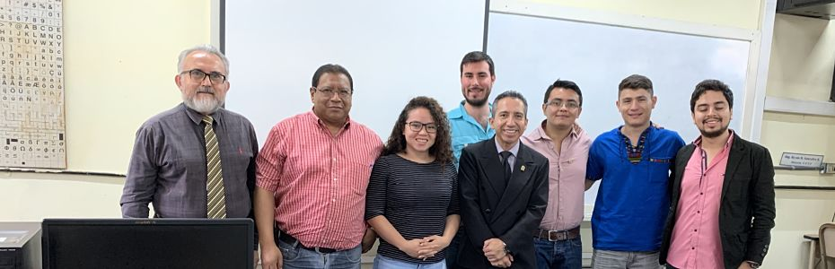 Profesores de la FAUSAC compartieron en la sesión de trabajo sobre Gestión de cursos usando la plataforma virtual