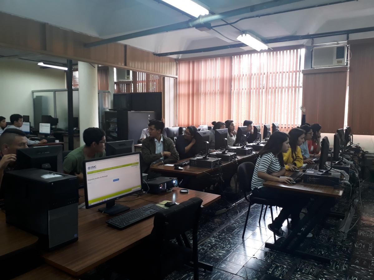 Prueba digital de biología para el ingreso a la FAUSAC año 2018